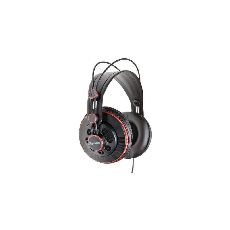 Fone de Ouvido Headphone Over-ear Preto Superlux Hd681