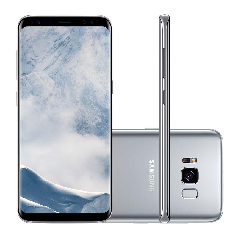 Celular Smartphone Samsung Galaxy S8 G950f 64gb Prata - Dual Chip