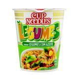 Macarrão Nissin Cup Noodles Legumes 37g