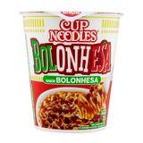 Macarrão Nissin Cup Noodles Bolonhesa 72g