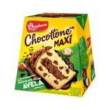 Chocotone de Chocolate com Avelã e Gotas de Chocolate Bauducco Maxi 500g