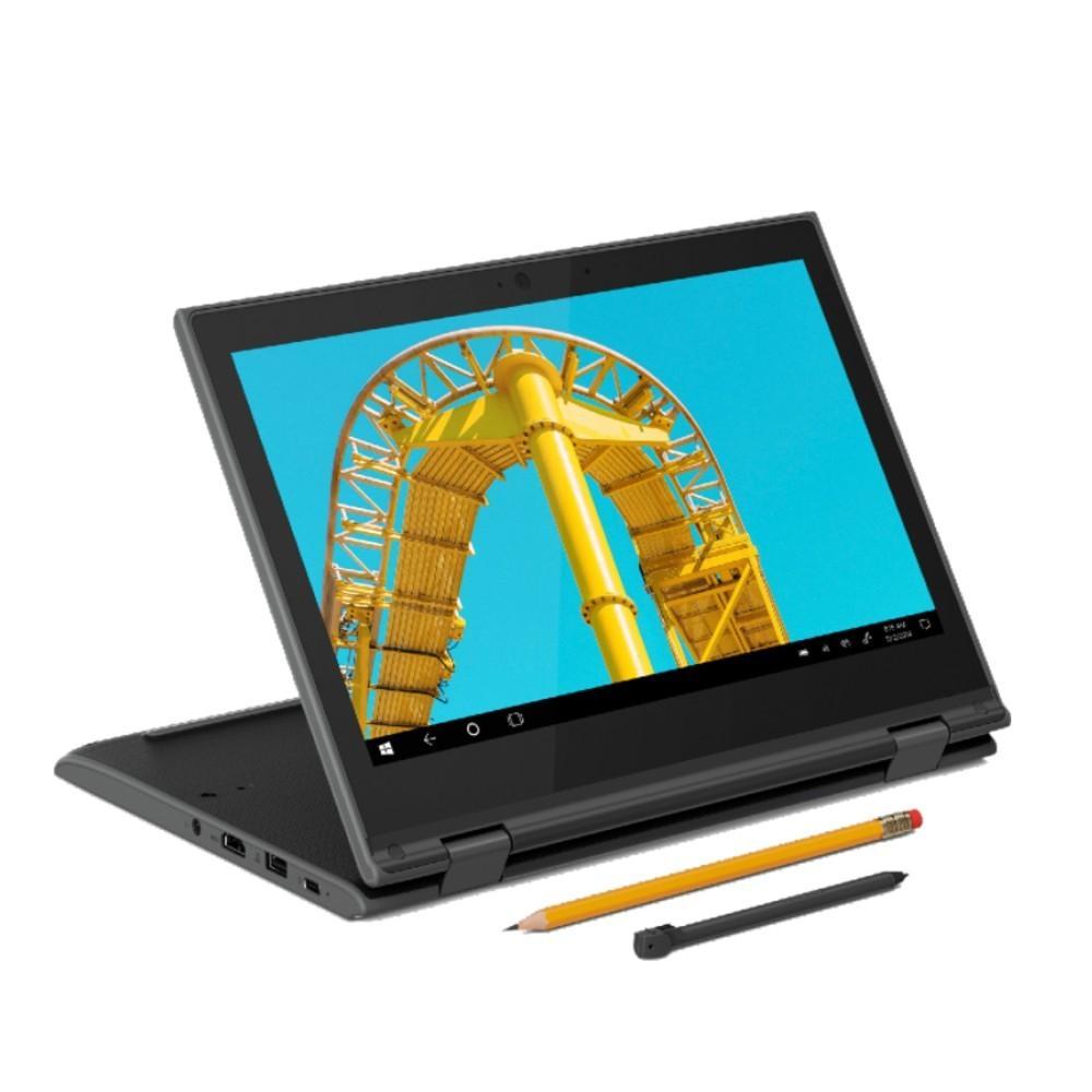 Imagem de Notebook Lenovo 300e Gen 2 Celeron 4GB 64GB Win10 Pro 11.6
