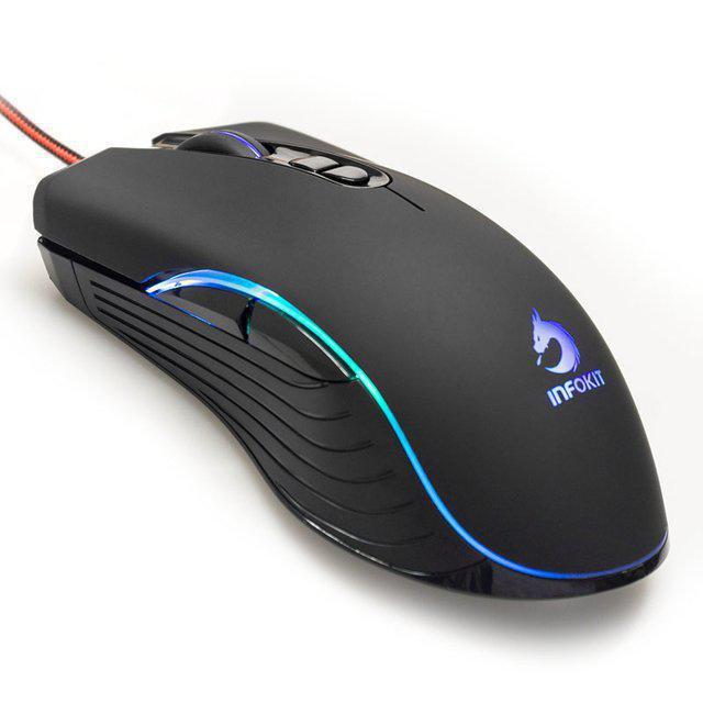 Mouse Usb 6400 Dpis Gmv550 Infokit