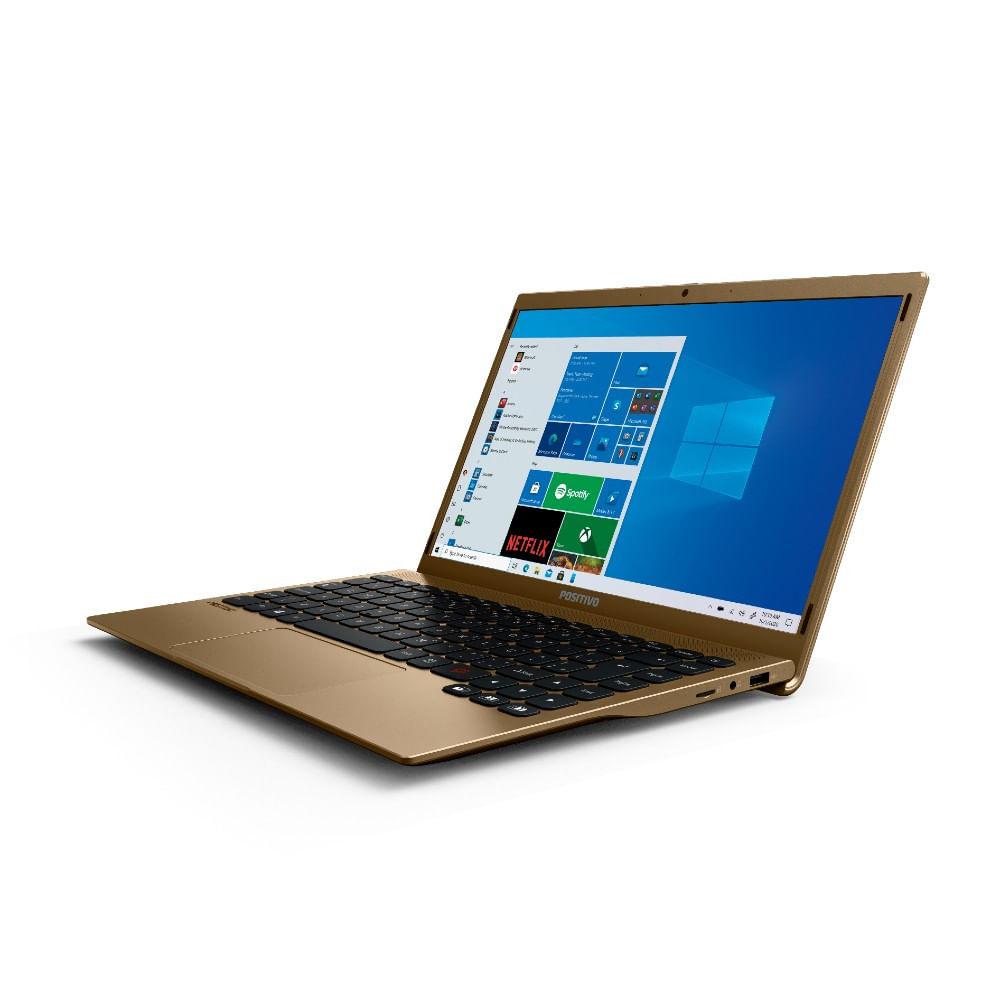 Imagem de Notebook Positivo Motion Atom Z8350 4GB SSD 128GB HD Graphics Tela 14,1