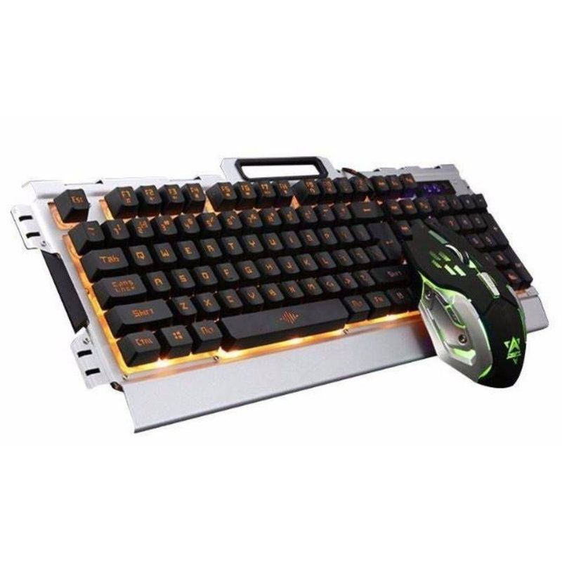 Kit Teclado e Mouse Gamer Jp-133 Knup