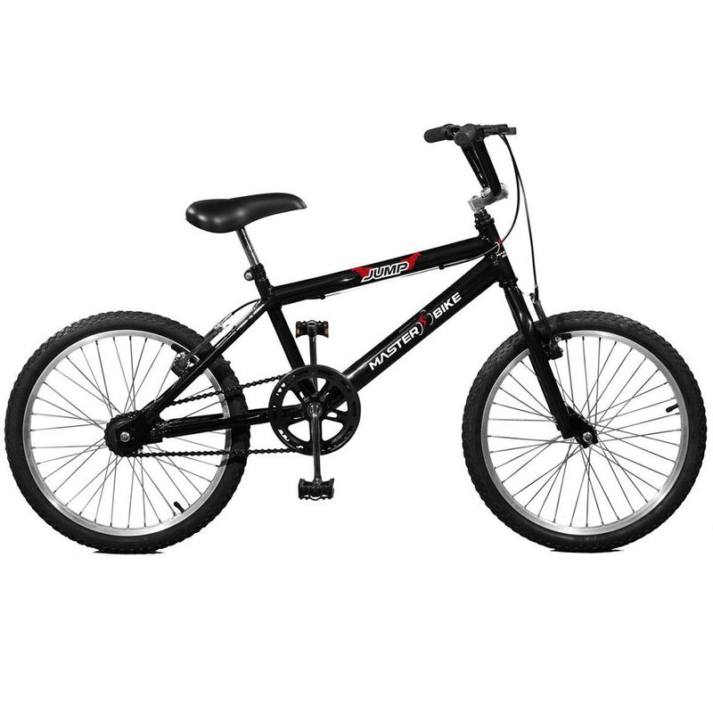 Bicicleta Master Bike Jump Aro 26 Rígida 20 Marchas - Preto