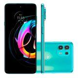 Smartphone Motorola Edge 20 Lite, 128GB, Verde, 5G, Câmera Tripla 108MP, Selfie 32MP, Android 11