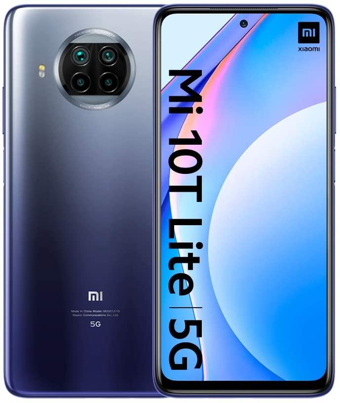 Celular Smartphone Xiaomi Mi 10t Lite 64gb Azul - Dual Chip