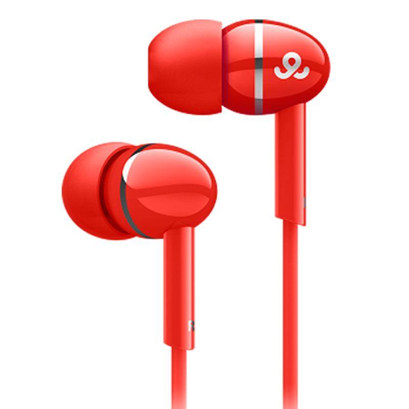 Fone de Ouvido Intra-auricular Vermelho Gogear Gep3005rd