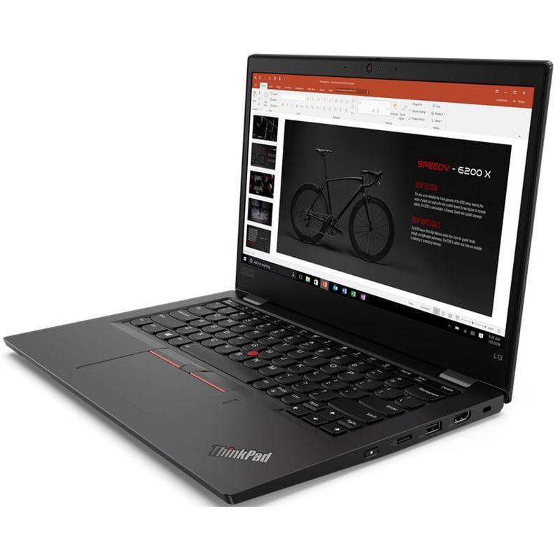 "Notebook - Lenovo 20r4001abr I5-10310u 1.70ghz 8gb 256gb Ssd Intel Hd Graphics Windows 10 Professional Thinkpad L13 13,3"" Polegadas"