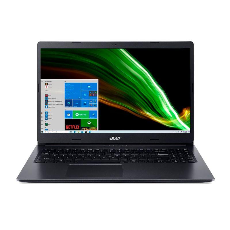 """Notebook - Acer A315-23-r6hc Amd Ryzen 5-3500u 2.10ghz 8gb 512gb Ssd Amd Radeon Rx Vega 8 Windows 10 Home Aspire A3 15,6"""" Polegadas"""