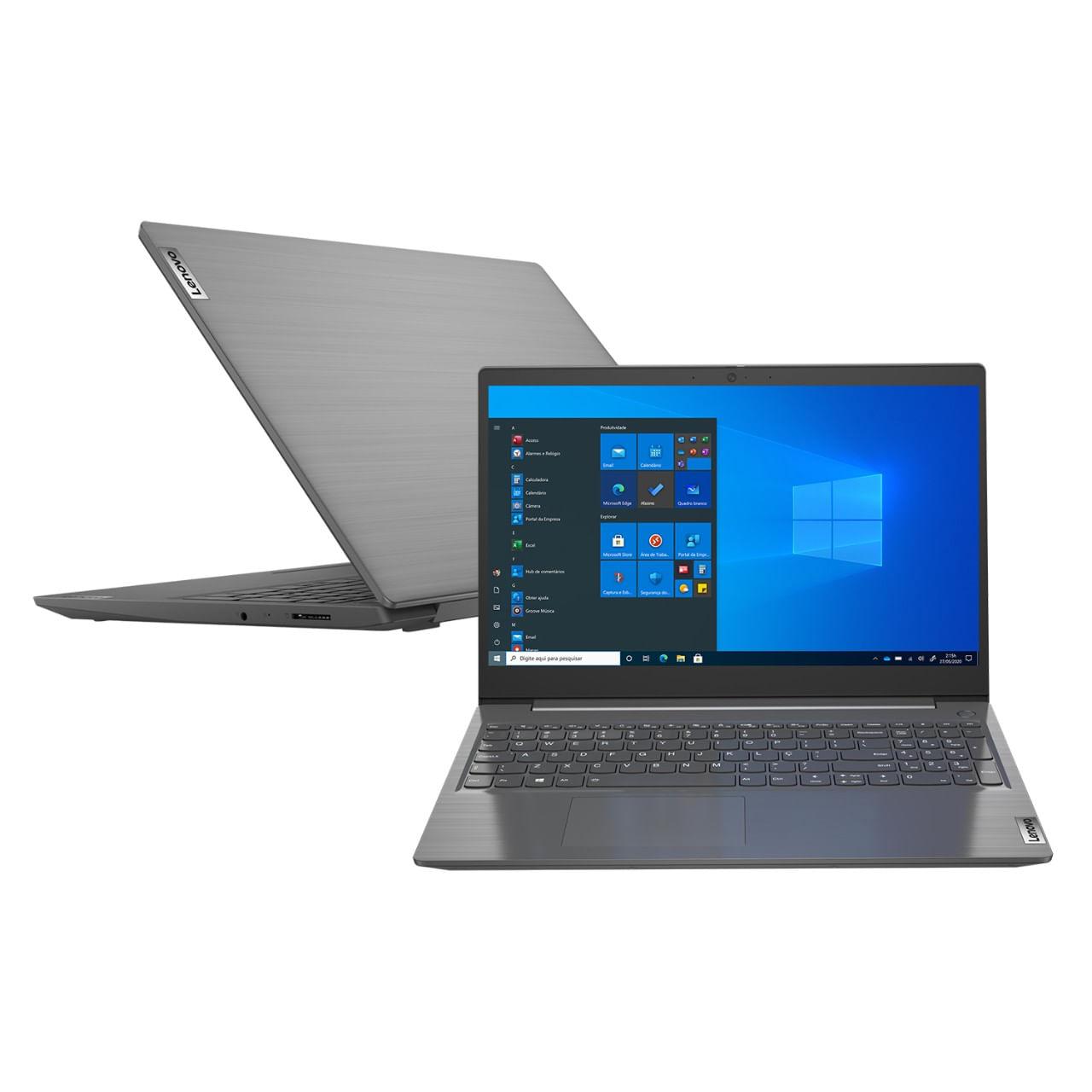 Imagem de Notebook Lenovo V15 I3-10110u 4GB 500GB Windows 10 Pro 15.6