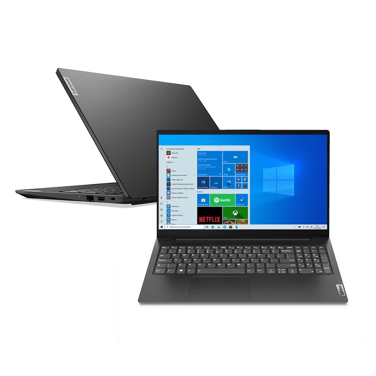 Imagem de Notebook Lenovo V15 I5-1135g7 8GB 256GB Ssd Windows 10 Pro 15.6
