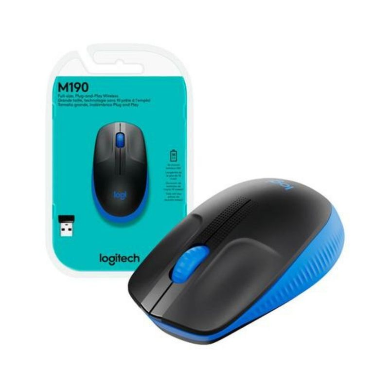 Mouse M190 Azul 910-005903 Logitech