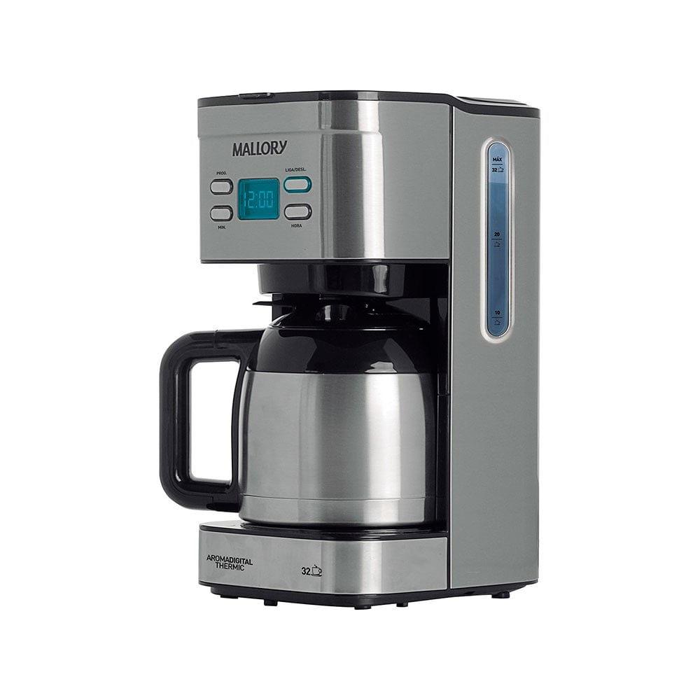 Cafeteira Elétrica Mallory Aroma Digital Thermic Inox 110v - B92000601