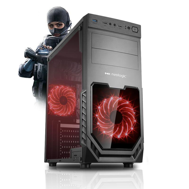 Desktop Neologic Gamer Nli81213 I5-9400f 2.90ghz 8gb 1tb Geforce Gtx 1650 Windows 10 Pro Sem Monitor