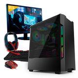 KIT PC GAMER NEOLOGIC NLI80939 RYZEN 5 2400G 8GB (GEFORCE GTX 1050TI) 1TB + MONITOR 21,5