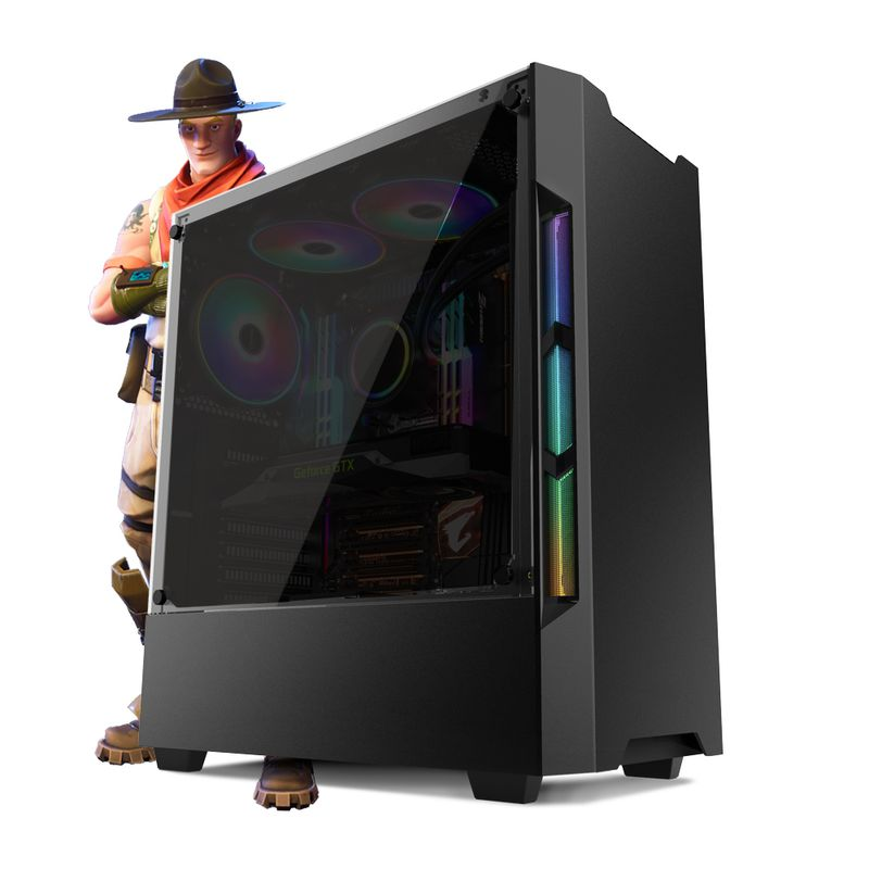 Desktop Neologic Gamer Nli81217 I5-9400f 2.90ghz 8gb 1tb Geforce Gtx 1060 Windows 10 Pro Sem Monitor