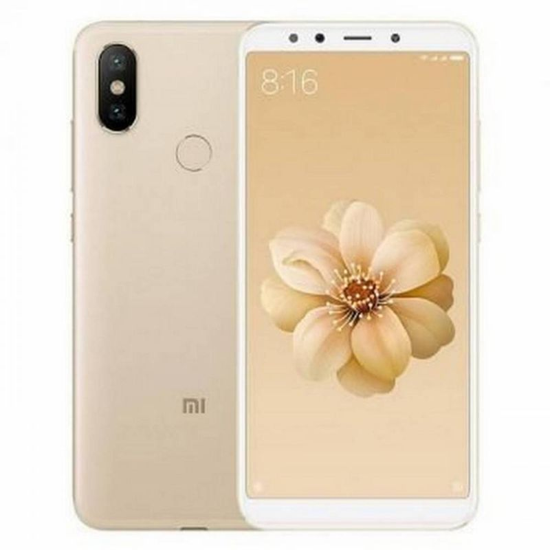 Celular Smartphone Xiaomi Mi A2 64gb Dourado - Dual Chip