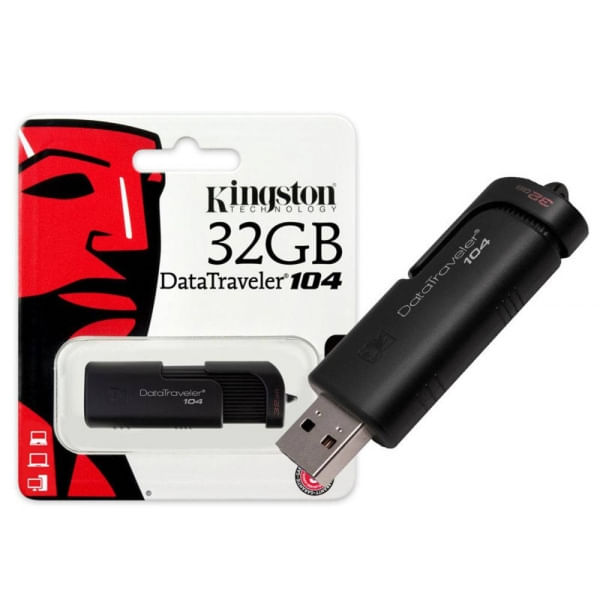 Pen Drive Kingston Datatraveler 32gb - Dt104