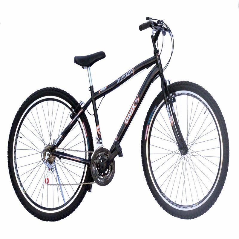 Bicicleta Onix Invictus Aro 26 Rígida 18 Marchas - Preto