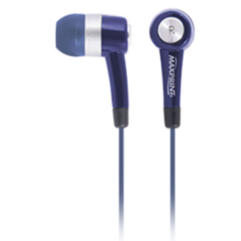 Fone de Ouvido Intra-auricular Maxsound Azul Maxprint 6011482