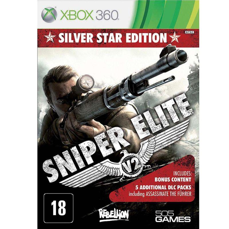 Jogo Sniper Elite V2: Silver Star Edition - Xbox 360 - 505 Games