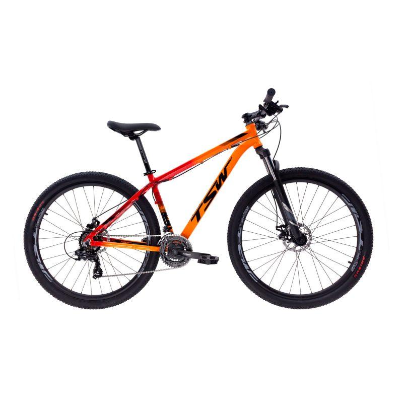 Bicicleta Tsw Ride T19 Aro 29 Susp. Dianteira 21 Marchas - Laranja