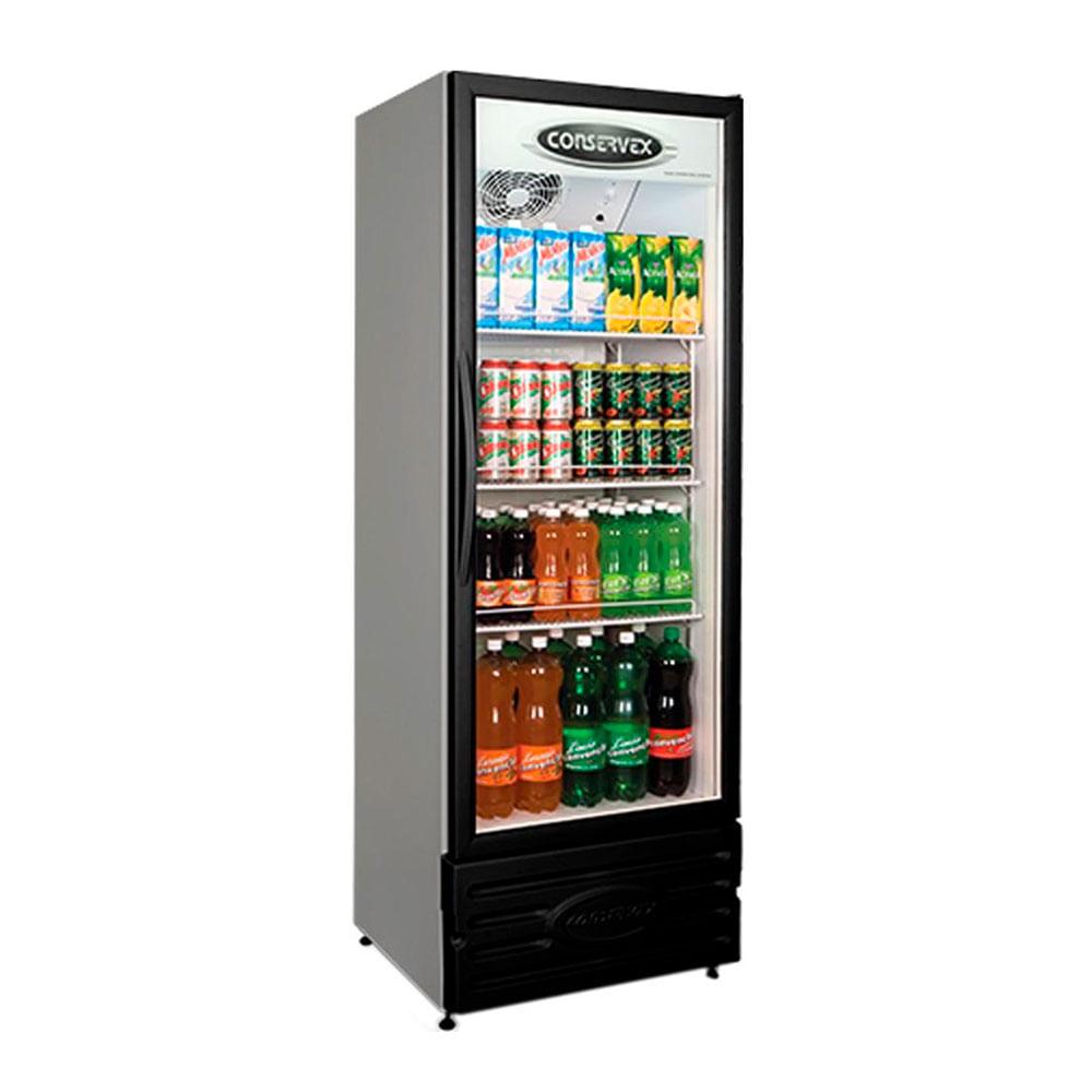 Geladeira/refrigerador 400 Litros 1 Portas Preto - Conservex - 110v - Erv-400