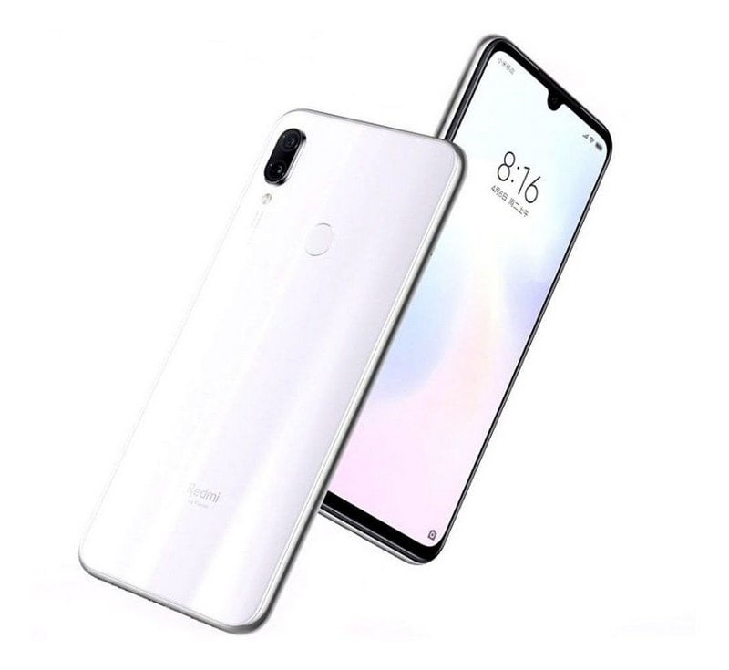 Celular Smartphone Xiaomi Redmi Note 7 128gb Branco - Dual Chip