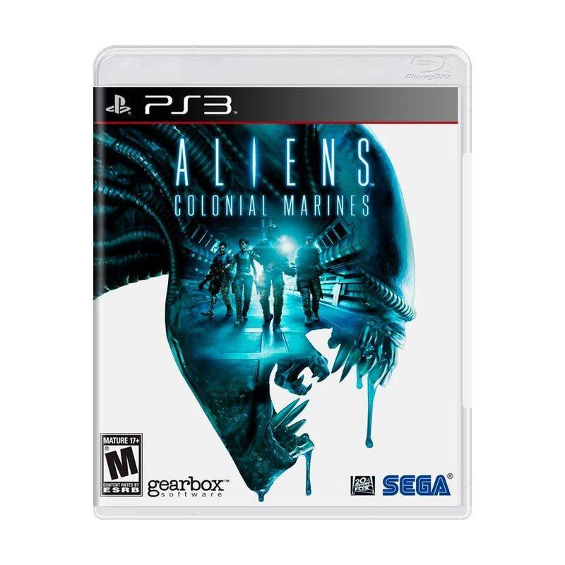 Jogo Aliens Colonial Marines - Playstation 3 - Sega