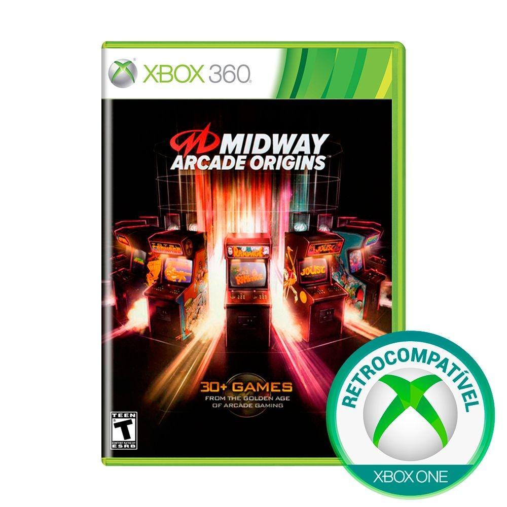 Jogo Midway Arcade Origins - Xbox 360 - Warner Bros Interactive Entertainment