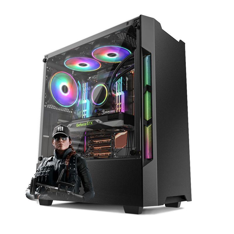 Desktop Neologic Gamer Nli81664 I5-9400f 2.90ghz 8gb 1tb Geforce Gtx 1650 Windows 10 Pro Sem Monitor