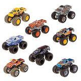 Hot Wheels Carrinho 1/64 Monster Truck Surpresa Mattel Fyj44