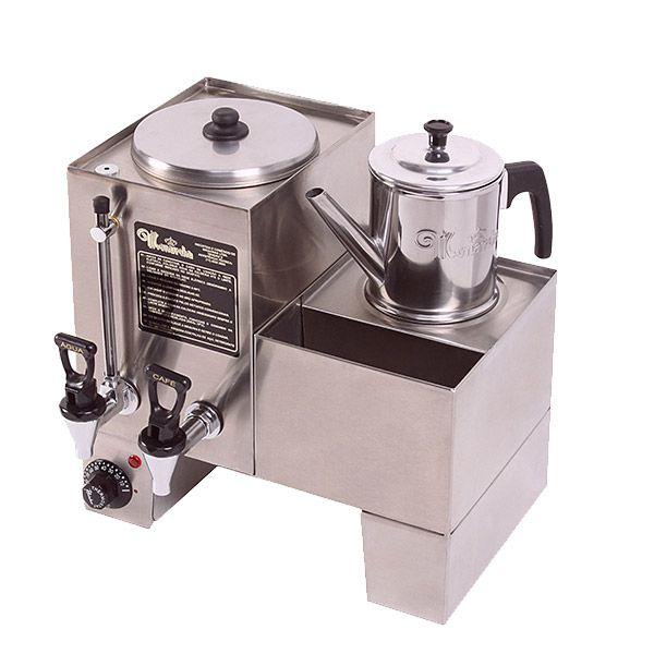 Cafeteira Industrial/comercial Monarcha Conjugada Inox 110v - M31b