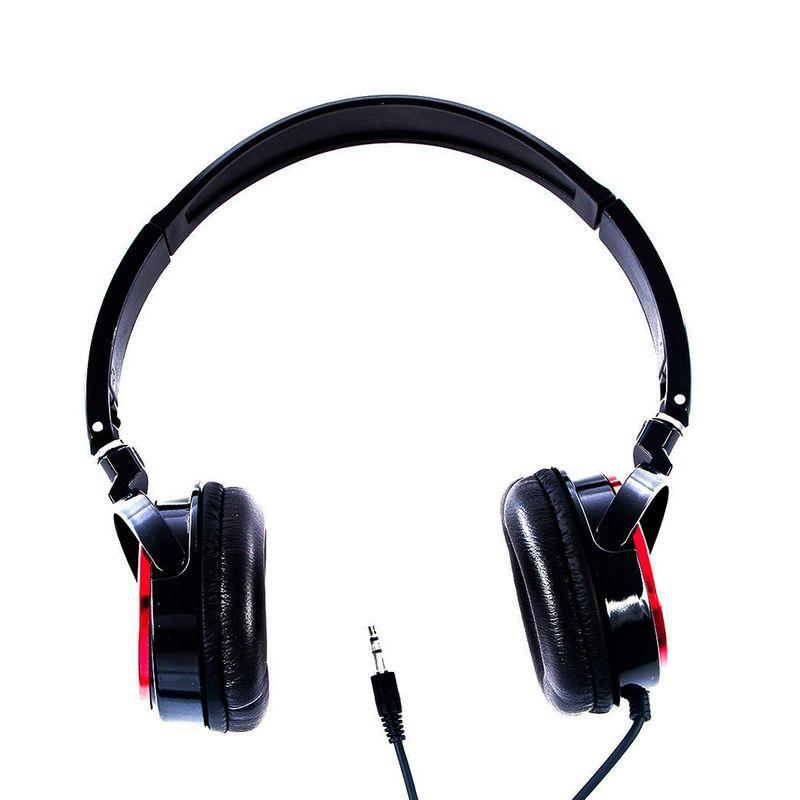 Fone de Ouvido Headphone Stereo Vermelho Logic Ls2000rd