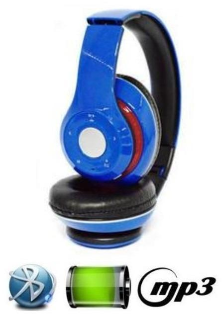 Fone de Ouvido Headphone Bluetooth Long Knup Kp363