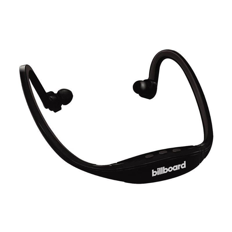 Fone de Ouvido Auricular Bluetooth para Esportes Preto Billboard Bb787