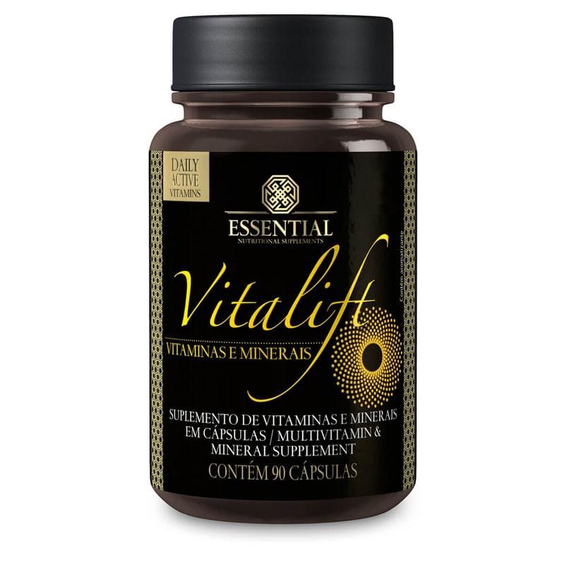 Imagem de Vitalift Vitaminas e Minerais Essential Nutrition 90 Cápsulas