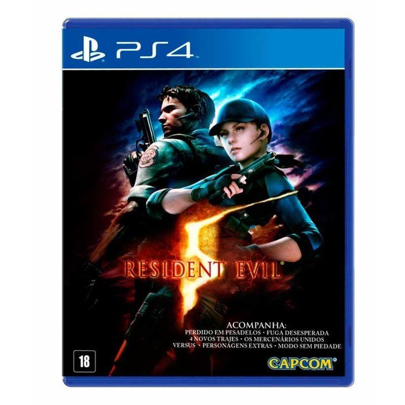 Jogo Resident Evil 5 Remastered - Playstation 4 - Capcom