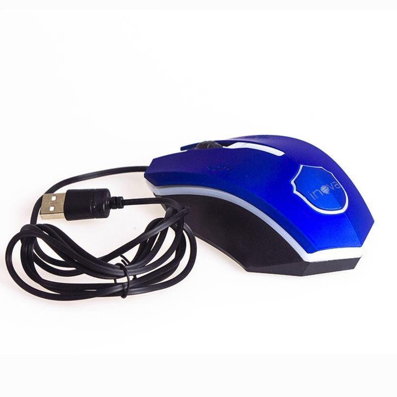 Mouse Usb Óptico Led 800 Dpis Gamer 7095 Inova