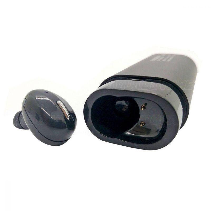 Fone de Ouvido Inpods Earbuds Bluetooth 2 em 1 Com Power Bank Exbom Btws-pbs80