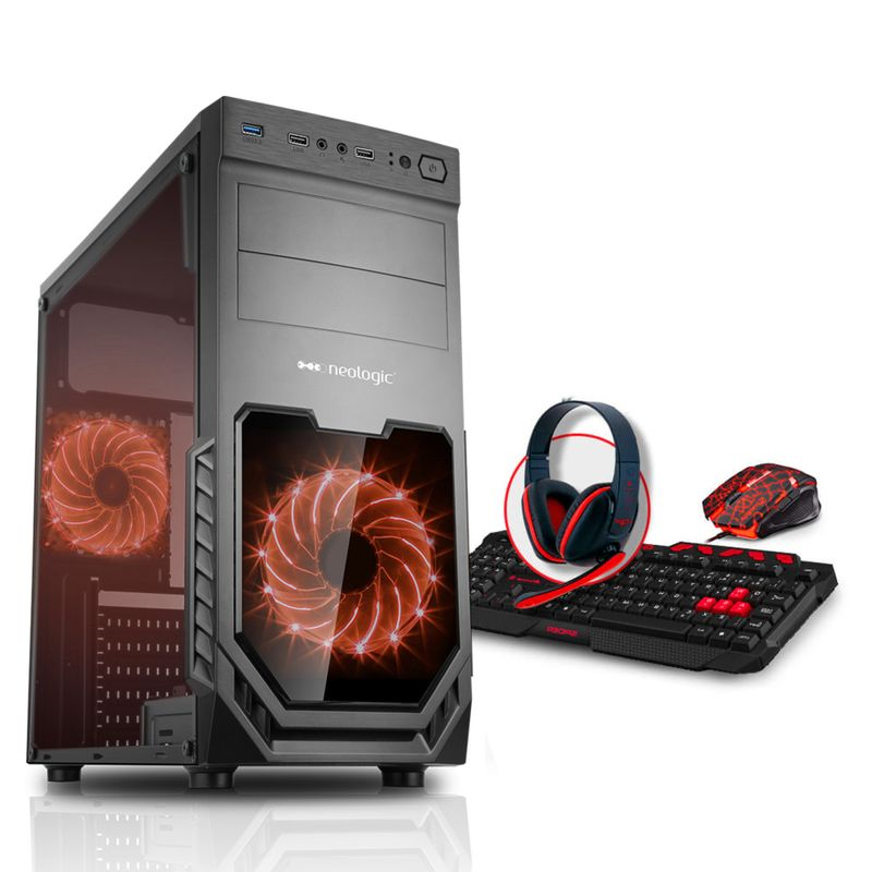 Desktop Neologic Gamer Nli80305 Amd A10-9700 3.50ghz 16gb 1tb Amd Radeon R7 Windows 10 Sem Monitor