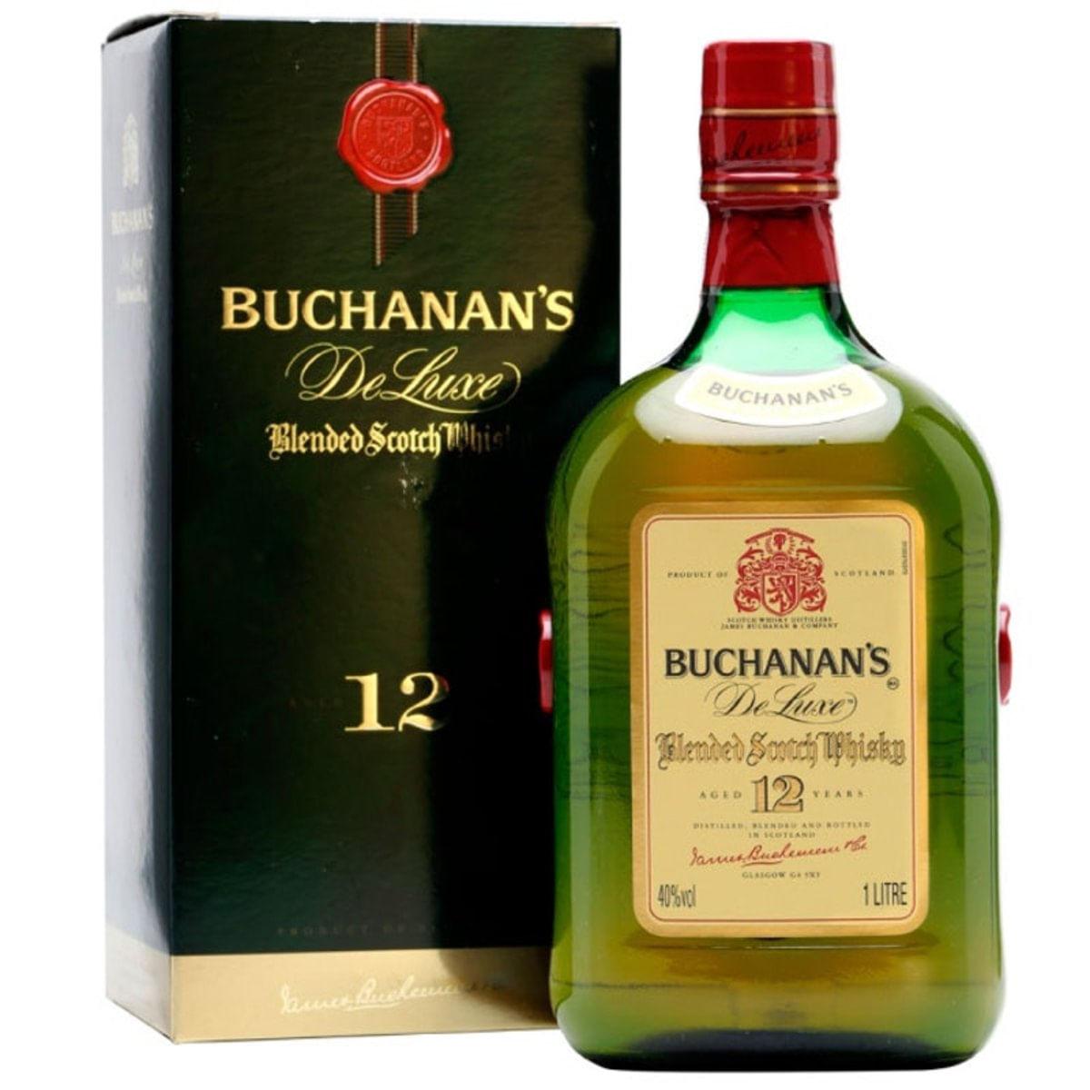 Imagem de Whisky Buchanan's Deluxe 12 Anos 1 Litro