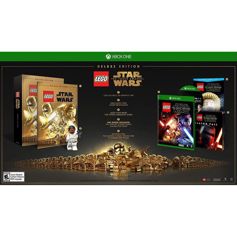 Jogo Lego Star Wars The Force Awakens Deluxe - Xbox One - Lucasarts