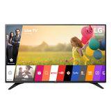 """Smart TV LED 55"""" LG 55LH6000 Full HD 3 HDMI 2 USB Preta com Conversor Digital Integrado"""