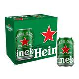 Cerveja Heineken Premium Pilsen Lager 350ml 12 Unidades