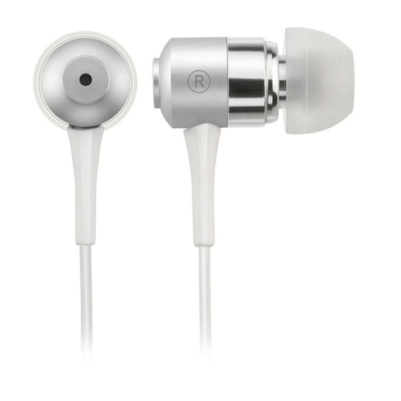 Fone de Ouvido Auricular Metallic Sport Branco Multilaser Ph046