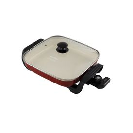 5680778_Panela Elétrica Britânia Super Chef Ceramic Vermelho BPE05V 110V_1_Zoom