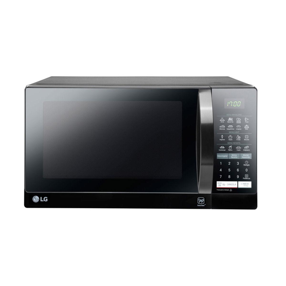 Micro-ondas LG MS3057QA 30 Litros Preto 220V